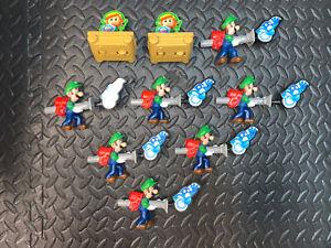 2021 Burger King NINTENDO SWITCH Toys Complete Set Of 6 Mario, Luigi, Zelda,