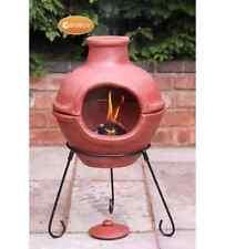NUOVO Cozumel Chimenea Camino Giardino All'aperto Patio Fire Pit RISCALDATORE BBQ Grill PRATO