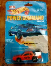 VERY RARE HIT WHEELS LEO INDIA POWER COMMAND RACERS CHEVY STOCKER NEW ORANGE