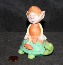 Vintage 1950's Porcelain Turtle & Elf from American Greetings Co - Japan