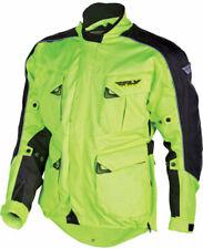 Fly Racing Terra Trek 3 Textile Motorcycle Jacket MEDIUM Hi Viz  477-2065M