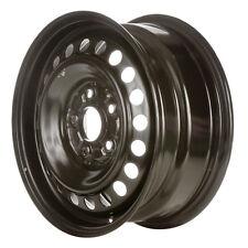 63855 Refinished Honda Accord 2003-2007 15 inch Black Steel Wheel, Rim