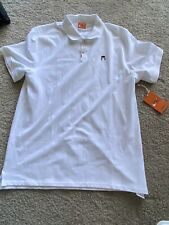 Nike John McEnroe Headband Tennis Polo CZ1763 100 Size Large L White Golf Shirt
