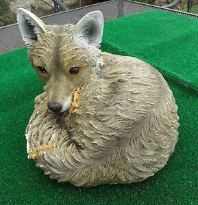 Garden Ornament Latex mould of a Fox IN STOCK REF B