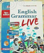 ENGLISH GRAMMAR LIVE con Cd NEW EDITION - A1/B2 - S.MINARDI S.FOX - DE AGOSTINI