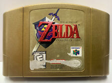 Zelda Ocarina of Time for Nintendo 64 Authentic NTSC Gold Cartridge Only N64