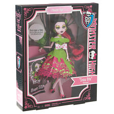 Monster High Story SCARY TALES Snow Bite DRACULAURA Classic Fairy Doll White NEW