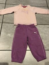 Puma Tracksuit- Baby Girl Approx Size 00