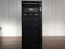 HP Z800 - 2x 6C X5680@3.33GHz, 96GB DDR3, 180GB SSD+600GB 15K+4TB, Quadro 5000