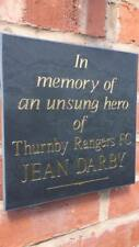 Personalised High Quality Deep Cut Slate Memorial Headstone Grave Marker Plaque