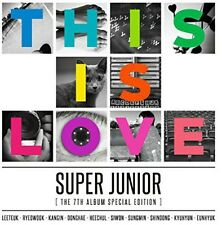 Super Junior - This Is Love 7: Special Edition [CD New]