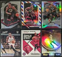 Lot of (6) Pascal Siakam, Including Spectra, Prestige RC, Prizm parallels, more