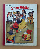 WALT DISNEY'S  SNOW WHITE AND THE SEVEN DWARFS  NOTE PAD COMPOSITION BOOK  1938