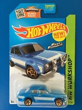 2015 Hot Wheels Fast & Furious 1970 FORD ESCORT RS1600 MKI - mint on card