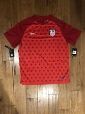 Nike Dri-Fit USA 2018 Soccer Squad Pre Match Jersey Size XXL Red 893367-688