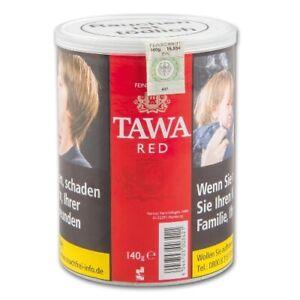 7 x TAWA Zigarettentabak Red American Blend à  140 Gramm