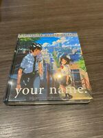 Your Name blu ray + Libro Makoto Shinkai Sigillata Nuovo