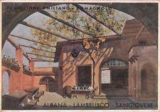 A2347) SIENA 1933, MOSTRA VINI TIPICI D'ITALIA, EMILIA ROMAGNA, ALBANA LAMBRUSCO