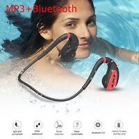 Open Ear Wireless Bone Conduction Headphones Bluetooth 5.0 Sports Headsets IPX8