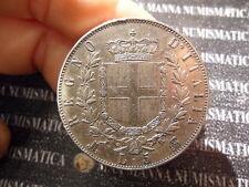 REGNO D'ITALIA VITTORIO EMANUELE II 5 LIRE 2° TIPO ARGENTO 1871 M COD.VITEMII-36