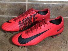 Nike Mercurial Veloce III FG 847756 616 University Red Men's Soccer Cleat Sz 9.5