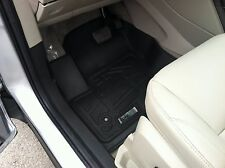 Front Row Floor Mats in Black for 2013 - 2017 Ford Escape