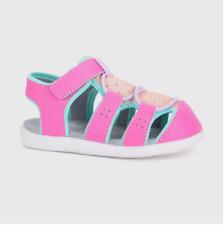 New See Kai Run Basics Spencer Fisherman Sandals Pink Toddler Girls Size 6
