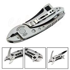 Multi-fonction Clé à molette Tournevis Jaw Pinces Couteau Outil Survival Gear