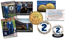 DEREK JETER Retirement Complete Set w/ 2 SOLD-OUT TOPPS NOW CARDS & JFK 24K Coin