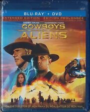 Cowboys & Aliens (Blu-ray/DVD, 2011, Canadian) BRAND NEW