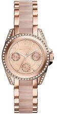 Michael Kors Ladies Mini Blair Blush and Rose Gold-Tone  Watch - MK6175
