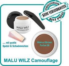Camouflage Cream Farb No. 06 von Malu Wilz mit Spatel und Schwämmchen