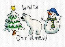 Card Christmas/Holidays Cross Stitch Kits