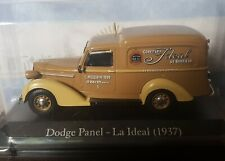 DODGE PANEL (1937) La Ideal bakery -  ARGENTINA Unforgettable Cars diecast 1:43