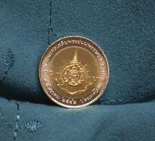 King Bhumibol Adulyadej 72nd Birthday 10 Baht 1999 Thailand Coin Bi Metallic