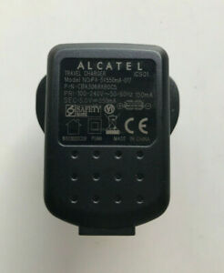 Alcatel Travel Charger AC/DC Adapter PA-5V550mA-017 CBA3068AB0C5 5 V 550 mA DC