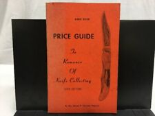 """Hand Book Price Guide """"To Romance of Knife Collecting"""" 1978 Ed. - Ferguson"""