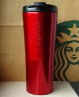 Starbucks Tumbler Thermobecher Edelstahl Phinney rot mit Schriftzug 16oz NEU