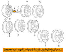 Pontiac GM OEM 05-08 Grand Prix Wheel-Lug Nut 9595983