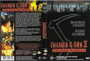 Children of the Corn 2 II - DVD - STEPHEN KING 1992 HORROR MOVIE - ALL REGION