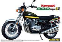 Model_kits AOSHIMA 1/12 Motorcycle Building Kits No.12 Kawasaki 900 MA Free ship