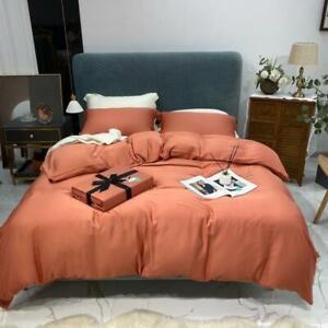 Bedding Set Ultra Luxury Summer Duvet Cover Set Flat/fitted Sheet Pillow Shams