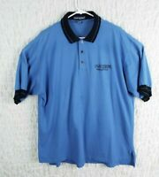 Vintage IBM Olympics Polo Shirt Size XL