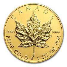 2005 Canada 1 oz Gold Maple Leaf BU - SKU #3904