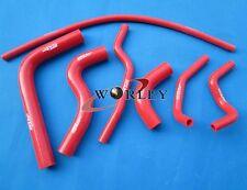 For SUZUKI SAMURAI 1986-1995 87 88 89 90 Silicone Radiator and Heater Hose red