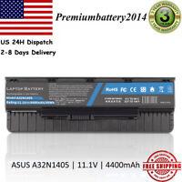 6 Cell Laptop Battery For ASUS GL551 GL551J GL551JK GL551JM GL551JW A32N1405 US