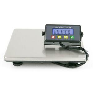 New Heavy Duty 200KG LCD Industrial Platform Postal Shipping Weighing Scales UK