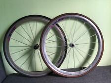 Rear Wheel Campagnolo Vento 8s hub 700 23C road racing tire continental 2 WHEELS