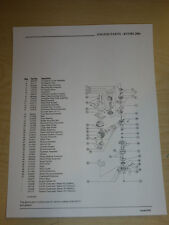 RYOBI BLOWER MODEL 280r AND ENGINE PARTS LIST MANUAL