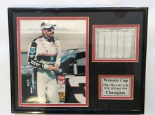 Dale Earnhardt #3 The  (7) Time Winston Cup Champion Career Stat Photo Display